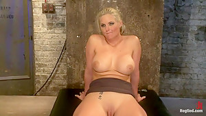 Phoenix Marie FINALLY & brutally orgasmed to near insanityWe overload her with orgasms NO MERCY!
