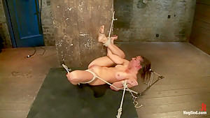18yr former All State athlete in Volleyball, Track & B/ball. 1st time cumming in hardcore bondage!