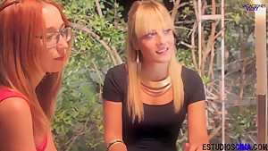 Spanish Lesbian Threesome