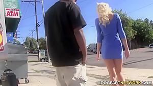 Maia Davis Interracial Gangbang