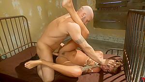 Horny fetish adult clip with best pornstars Cassandra Nix and Derrick Pierce from Dungeonsex