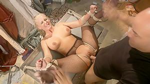 Hottest fetish sex clip with best pornstars Derrick Pierce and Phoenix Marie from Dungeonsex