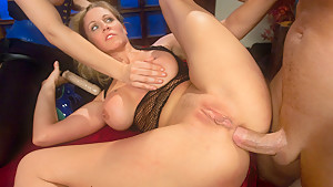 Hottest fetish, anal adult movie with incredible pornstars Bobbi Starr, John Strong and Julia Ann from Everythingbutt