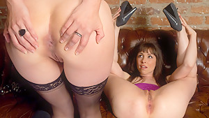 Exotic fetish, anal xxx scene with amazing pornstars Bobbi Starr and Steve Holmes from Everythingbutt