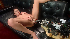 Amazing fetish, latina porn scene with crazy pornstar Poppy Morgan from Fuckingmachines