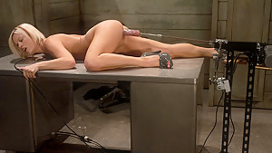 Crazy latina, fetish adult movie with hottest pornstar Jasmine Jolie from Fuckingmachines