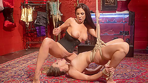 Horny fetish, lesbian xxx clip with best pornstars Cassidy Klein and Kirsten Price from Whippedass