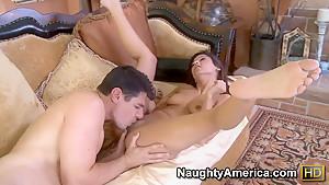 Denis Marti and Reena Sky get wild and horny