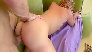 Horny pornstar Dani Jensen in incredible small tits, redhead porn video