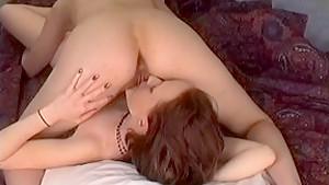 Hottest pornstar in fabulous small tits, redhead porn clip