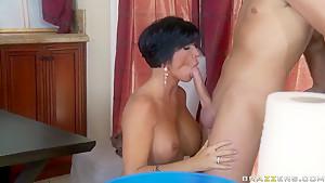 Cock-smitten MILF Shay Fox is slammed by Keiran Lee