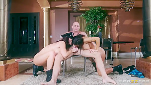 Jenna Presley and Jayden Jaymes get boned hard