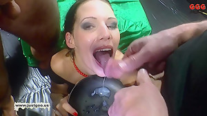 Horny pornstars in Best Bukkake, MILF porn video