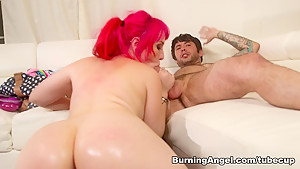 Fabulous pornstars Proxy Paige, Joanna Angel, Tommy Pistol in Exotic Big Tits, Anal sex scene