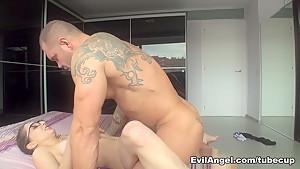 Best pornstars Jimena Lago, Nacho Vidal in Crazy Latina, Big Tits porn clip