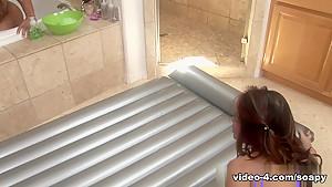 Crazy pornstar Kim Tao in Exotic Blowjob, Showers xxx clip