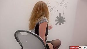 Big Black Cock For Kiki Daire At The Famous Glory Hole