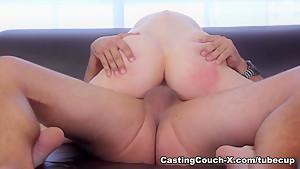 Incredible pornstar in Crazy Casting, Blowjob sex clip