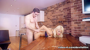 Fabulous pornstar in Horny Cumshots, Stockings porn scene