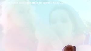 Amazing pornstars Caprice Jane and Ferrara Gomez in incredible blonde, facial porn scene