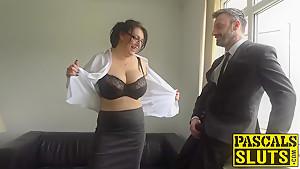 Hot brunette mature lady Sabrina Jade banged hard and raw
