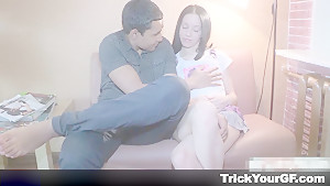 Trick Your GF - Christi - Interracial sex revenge