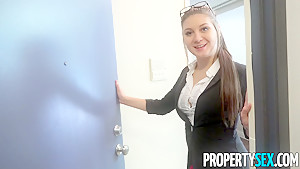 PropertySex Bratty Teen Jojo Kiss Fucks Real Estate Agent