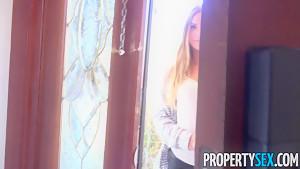PropertySex Tight Teen Summer Brooks Fucks To Get House