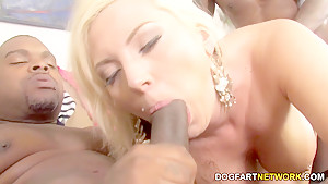 Skylar Price Tries Interracial DP For The First Time