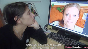 OmaHunter - Lesbian sex fun