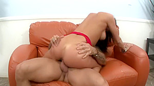 Lustful Sadie West has a hung guy pounding the hell out of her pussy
