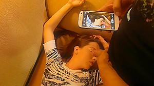 Girl in Hangover