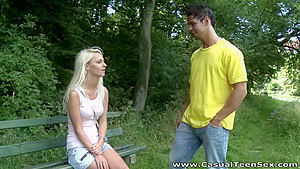 Casual Teen Sex - Treza - Blonde teeny fucked after breakup