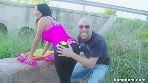 Anissa Kate in Sex On The Edge of the Highway