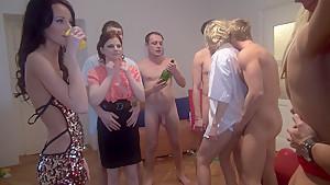 Charlotte Reed & Angel Piaff & Corrine & Eveline & Ilsa in innocent-looking xxx college girls get fucked hard
