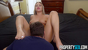 PropertySex Curvy Blond Kylie Page Gets Pussy Filled