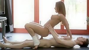 I like Ashley's strong well shaped body