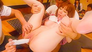 Crazy Japanese chick Minami Kitagawa in Amazing JAV uncensored Group Sex movie