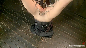Kristina Rose Captured and fucked in extreme bondage positions