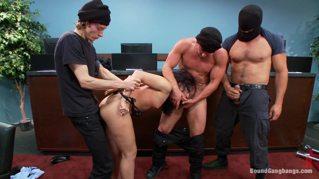 Bound In Public Porn
